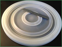 Compression Molding of a 5 Zone Silicon Wafer Processing Disc for Silicon Wafer Fabrication Machinery